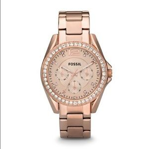 Fossil Rose Gold Stainless Steel Watch